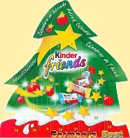 Ferrero Kinder Friends Adventskalendar