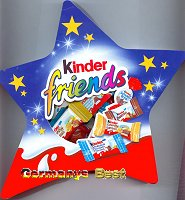 Ferrero Kinder Friends -Stern-