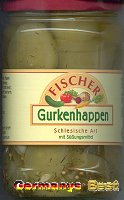 Fischer Gurkenhappen