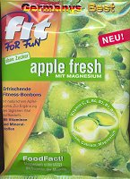 FitForFun apple fresh mit Magnesium