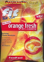 FitForFun orange fresh mit L-Carnitin
