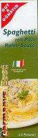 Miracoli Spaghetti mit Pilz-Rahm-Sauce