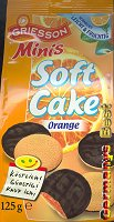 Griesson Minis Soft Cake Orange