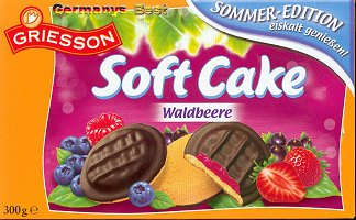 Griesson Soft Cake Waldbeere