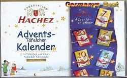 Hachez Advents-Täfelchen-Kalender