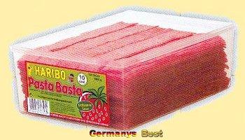Haribo Pasta Basta Dose Erdbeere Sour