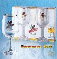 2 Hasseröder Bier Glaeser