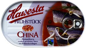 Hawesta Fruehstueck China
