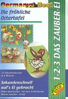Heitmann 1-2-3 Das Zauber-Ei -Dekorbanderolen-