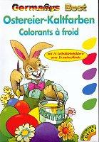 Heitmann Ostereier-Kaltfarben mit 16 Selbstklebebildern