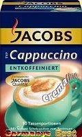 Jacobs Cappucchino Entkoffeiniert – Box