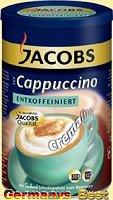 Jacobs Cappucchino Entkoffeiniert – Dose