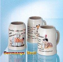 Kannenbäckerkrug mit 3 verschiedenen Motiven