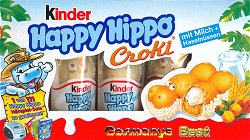 Ferrero Kinder Happy Hippo Croki, 5 pieces
