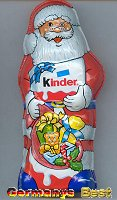 Ferrero Kinder Weihnachstmann