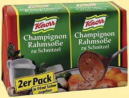Knorr 2-Pack Champignon Rahmsosse