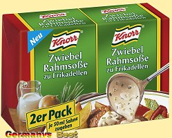 Knorr 2-Pack Zwiebel Rahmsosse