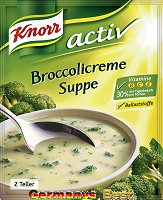 Knorr Activ Broccoli-Creme Suppe, 2 Serves