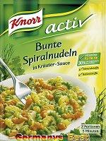 Knorr Activ Bunte Spiralnudeln, 2 Serves