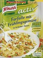 Knorr Activ Farfalle mit Frühlingsgemüse, 2 Serves