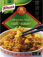 Knorr Asia Gebratene Nudeln Süss-Sauer