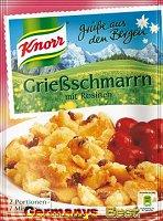 Knorr Grüße aus den Bergen Grießschmarrn