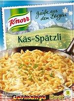 Knorr Grüße aus den Bergen Käs-Spätzli