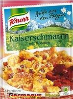 Knorr Grüße aus den Bergen Kaiserschmarrn mit Rosinen