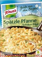 Knorr Grüße aus den Bergen Spätzle Pfanne