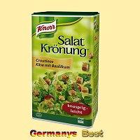 Knorr Salat Krönung Croutinos Käse mit Basilikum