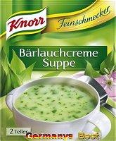 Knorr Feinschmecker Baerlauchcreme Suppe
