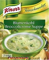Knorr Feinschmecker Blumenkohl-Broccolicreme Suppe