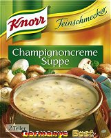 Knorr Feinschmecker Champignoncreme Suppe
