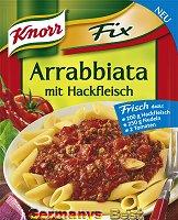 Knorr Fix Arrabbiata mit Hackfleisch