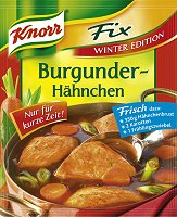 Knorr Fix Burgunder-Haehnchen -Winter Edition-