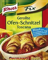 Knorr Fix Gerollte Ofen-Schnitzel Toscana