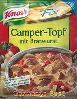 Knorr Fix Camper-Topf mit Bratwurst