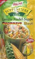 Knorr Activ Gemüse Nudel Suppe, Tasse