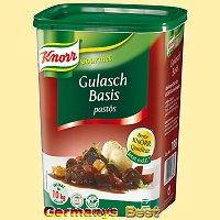 Knorr Gourmet Gulasch Basis -pastös- für 10Kg Fleisch