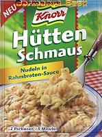 Knorr Hütten Schmaus Nudeln in Rahmbraten-Sauce