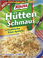 Knorr Hütten Schmaus Schwäbische Käse-Spätzle