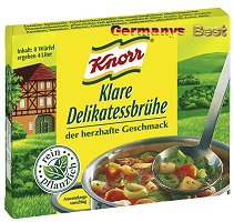 Knorr Delikatess Brühe 4l Würfel