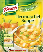 Knorr Suppenliebe Eiermuschel Suppe