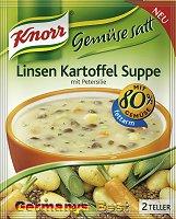 Knorr GemüseSatt Linsen Kartoffel Suppe
