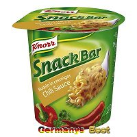 Knorr Snack Bar Nudeln in cremiger Chili Sauce
