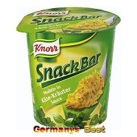 Knorr Snack Bar Nudeln in Käse-Kräuter Sauce