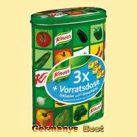 Knorr Delikatess Brühe in der Vorratsdose