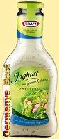 Kraft Salat-Dressing Joghurt mit feinen Kraeutern