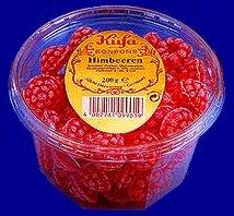 Kuefa Himbeeren Bonbons