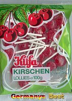Kuefa Kirschen Lollies
